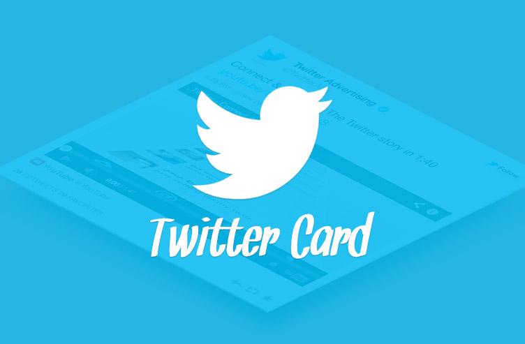 Twitter Cards za blog