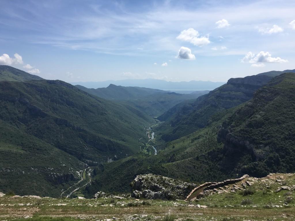 Kanjon rijeke Cijevne iliti crnogorski Kolorado