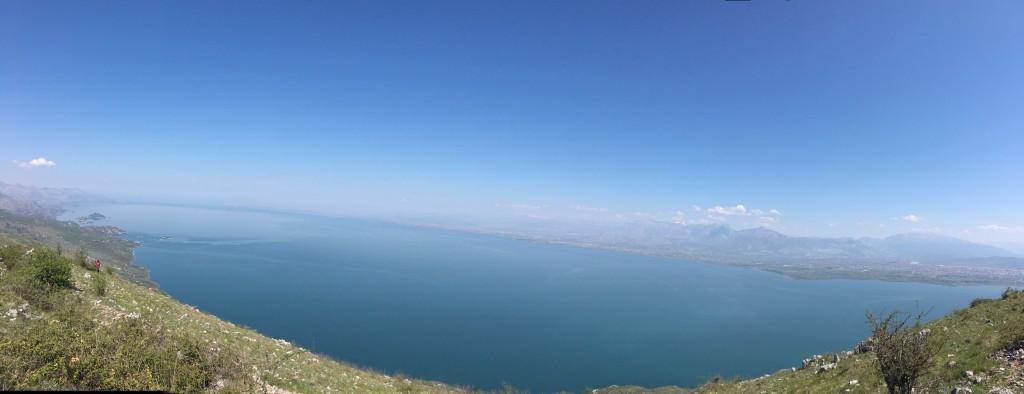 Pogled na Skadarsko jezero